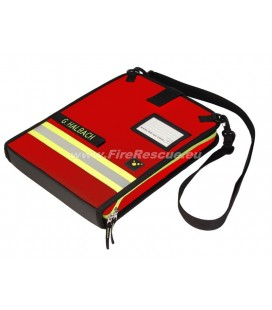 TEE-UU DOKU OPERATION CONTROL FOLDER DIN A4 - RED