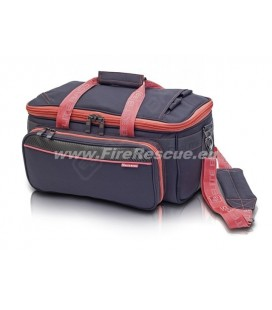 ELITE BAGS SPORT THERAPY BAG GP'S - GREY/PINK